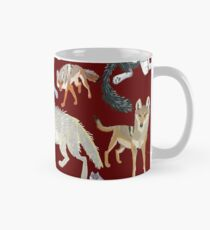 Wolves of the World (silouets) Taza