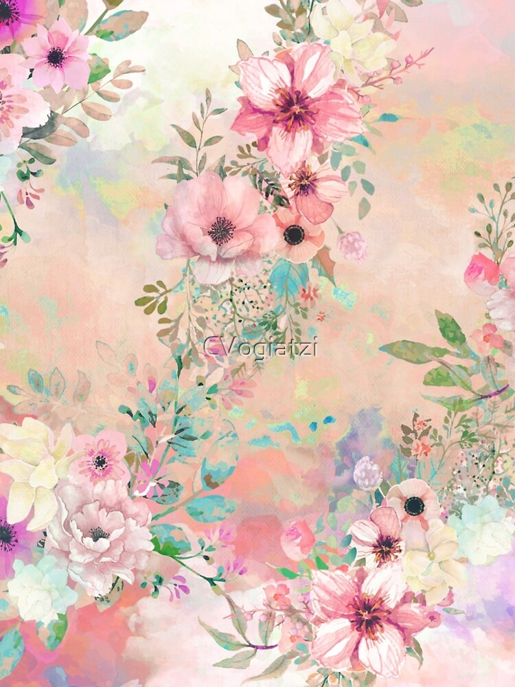 Botanical Fragrances in Blush Cloud by CVogiatzi