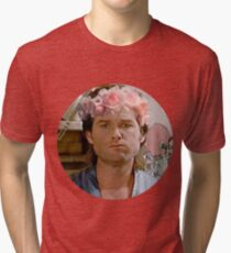 Jack Burton Flower Crown Tri-blend T-Shirt