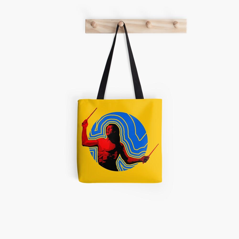 DRUMMER Soundwave Figure Tote Bag