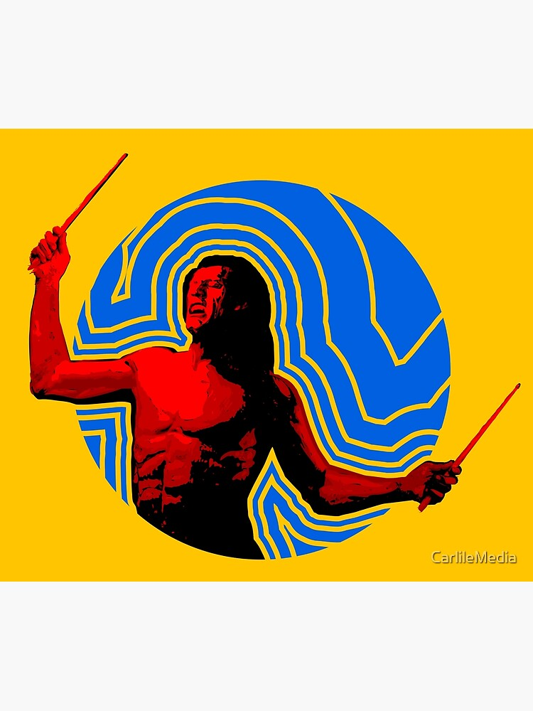 DRUMMER Soundwave Figure by CarlileMedia