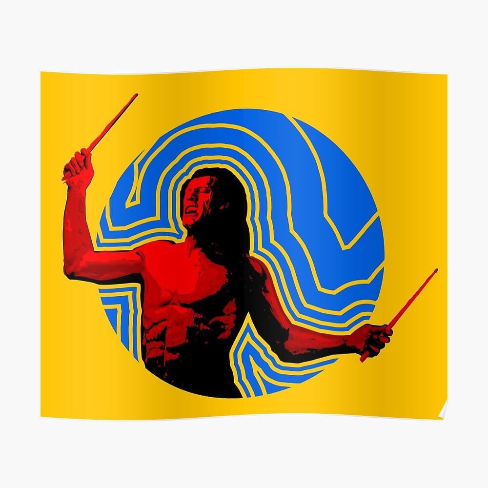 DRUMMER Soundwave Figure Poster