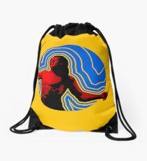 DRUMMER Soundwave Figure Drawstring Bag