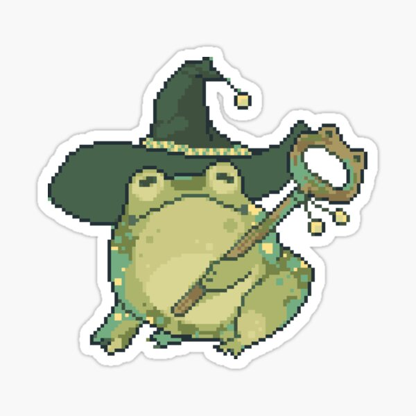 frog mage Sticker