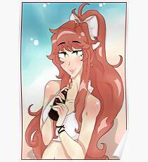 Summer Monika  Poster