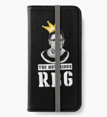 The Notorious RGB tshirt Ruth Bader Ginsburg t shirt I dissent t shirt iPhone Wallet/Case/Skin