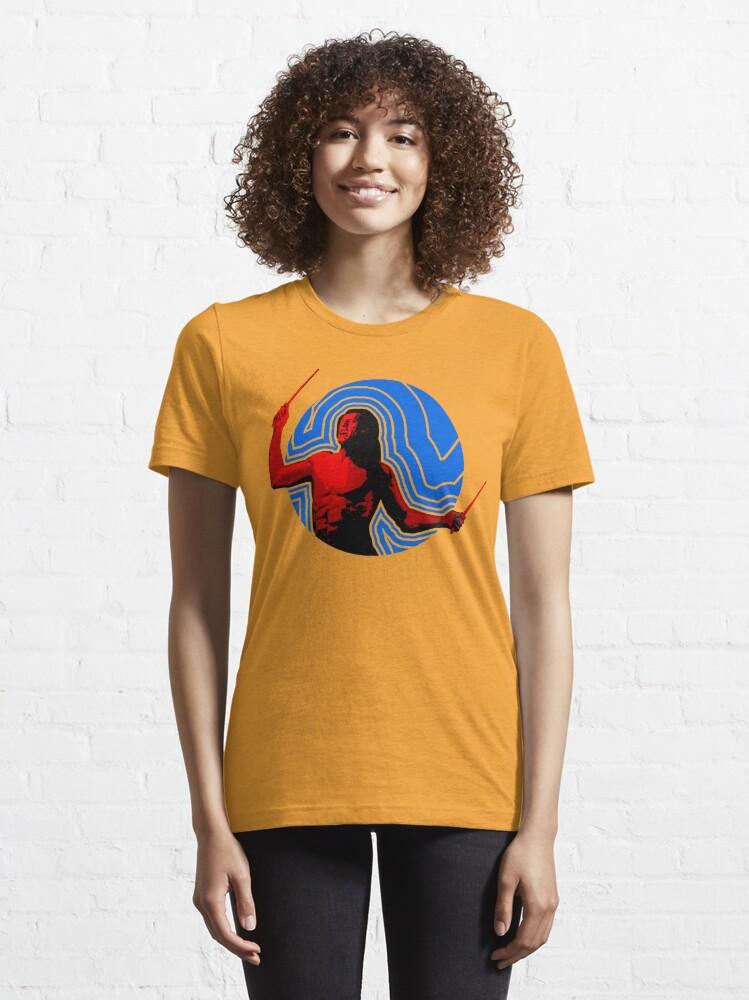 Alternate view of DRUMMER Soundwave Figure Essential T-Shirt
