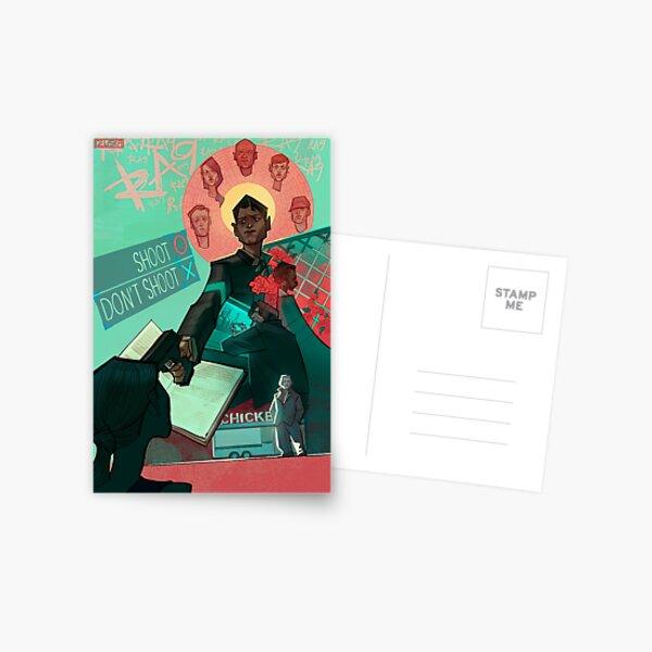 DETROIT: Devenir humain Connor Poster Carte postale