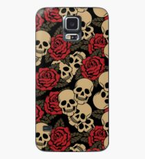 Skulls & Roses Case/Skin for Samsung Galaxy