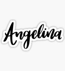 Angelina  Sticker