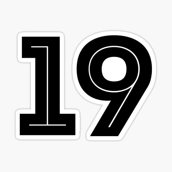 No. 19 - World Cup 2018 Sticker