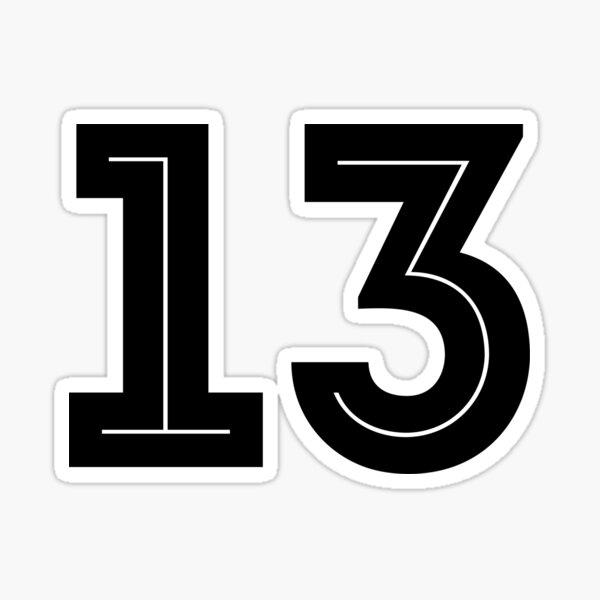 N ° 13 - Copa del mundo 2018 Pegatina