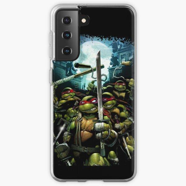 Teenage Mutant Ninja Turtles - TMNT Retro Samsung Galaxy Soft Case