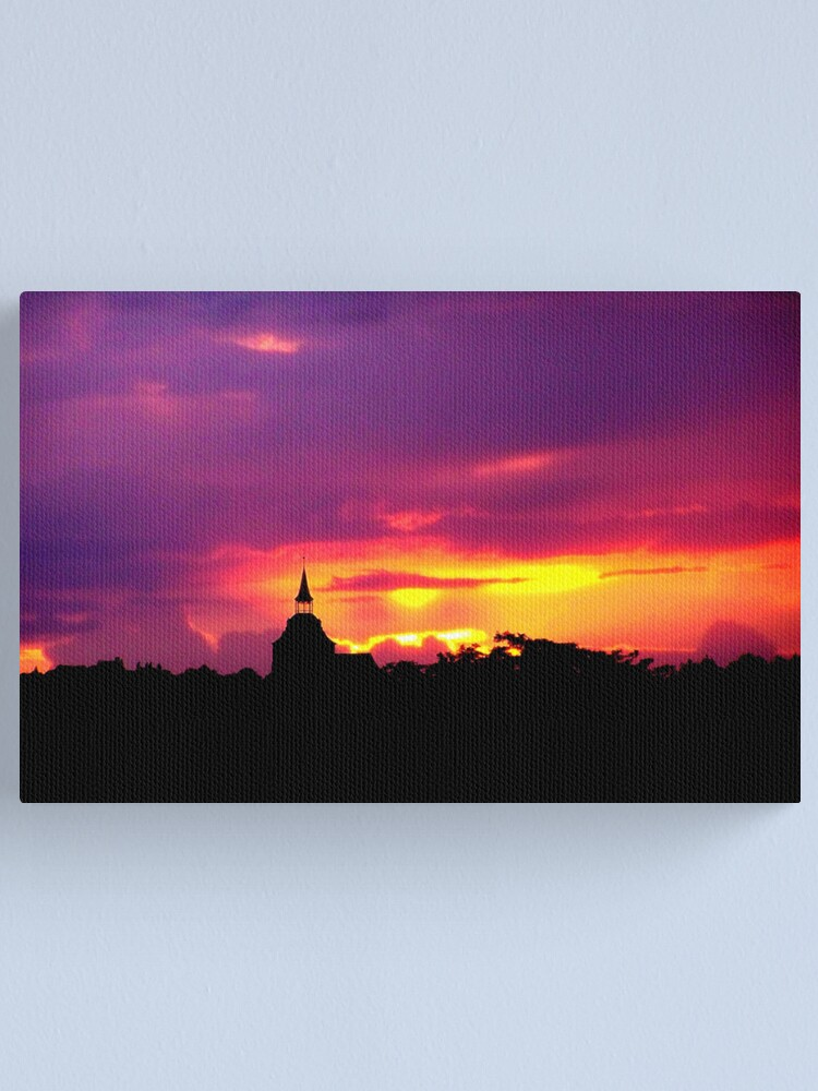 Alternate view of Purple Sunset Canvas Print