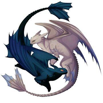 Dragon Yin Yang by Meow-Baby3