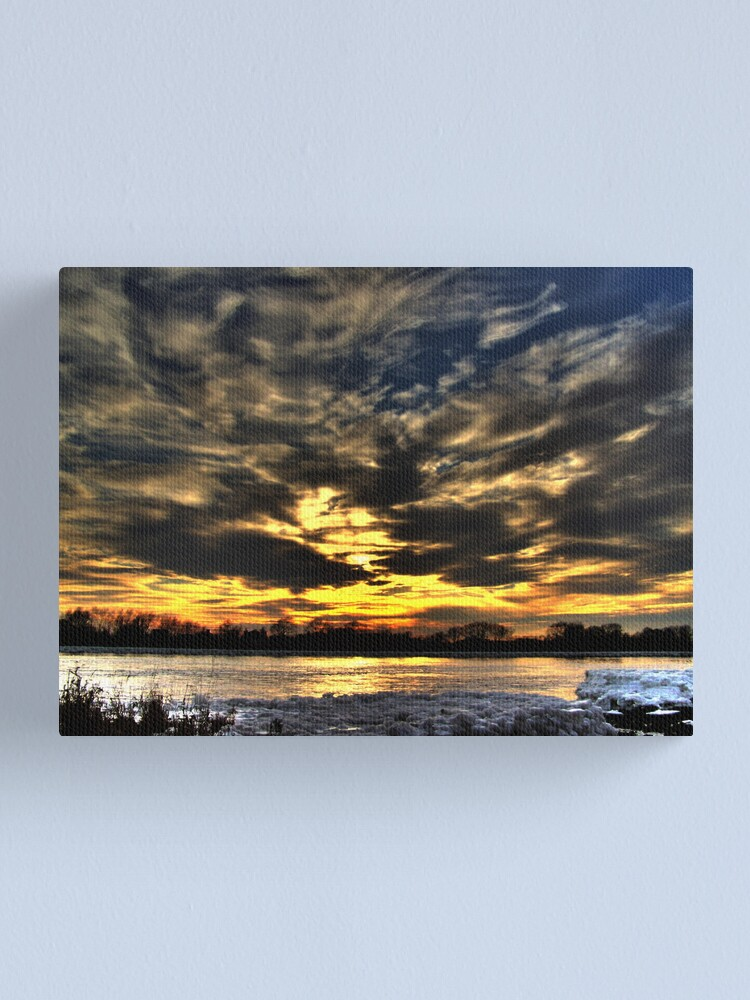 Alternate view of atmosphere Canvas Print