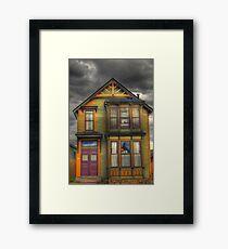 LEADVILLE HOUSE 1 Framed Print