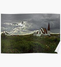 Nova Scotia Church Poster