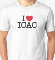 I ♥ #ICAC Unisex T-Shirt