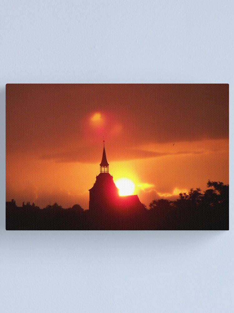 Alternate view of Holy Sunset Canvas Print