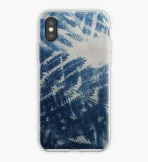 Fougère cyanotype Coque et skin iPhone