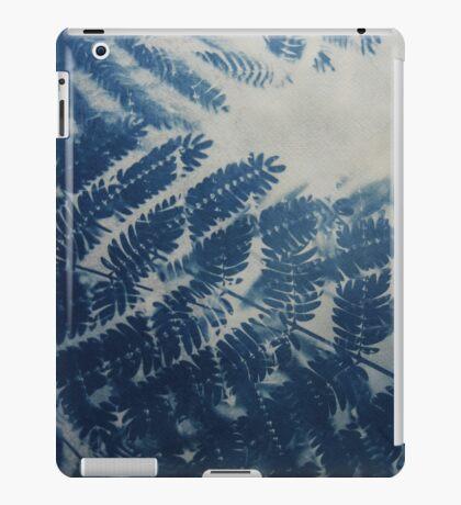 Fern Cyanotype iPad Case/Skin