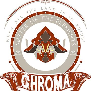 CHROMA - LIMITED EDITION by exionstudios