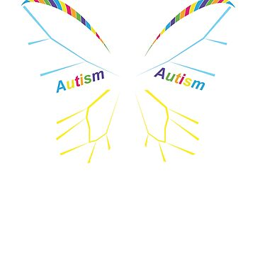 Autism Awareness- Autism Butterfly by amorhka