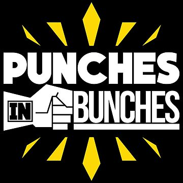 MMA Shirt Punches In Bunches Gift Tee For Men And Boys, MMA, MMA Shirt, MMA Gift, Gift For MMA Fighters by artbyanave