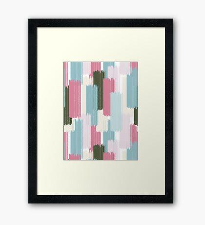Falling #redbubble #abstractart Framed Print
