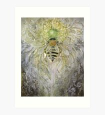 "Honeybee - ""When Flowers Dream"" Art Print"