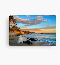 Laguna Beach: Rockpile Beach Canvas Print