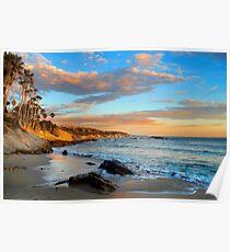 Laguna Beach: Rockpile Beach Poster