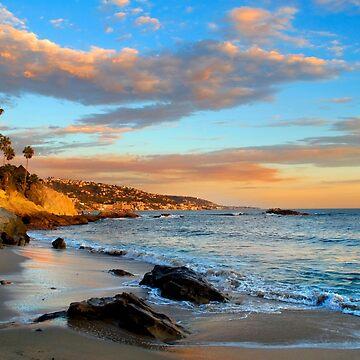 Laguna Beach: Rockpile Beach by Kgphotographics