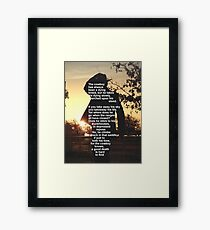 The Cowbay Has Always Been A Dieing Breed Framed Print