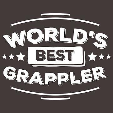 BJJ Shirt World's Best Grappler Brazilian Jiu Jitsu Gift Tee, BJJ Shirt, Brazilian Jiu Jitsu Shirt, Martial Arts Gift, Grappler Shirt by artbyanave