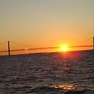 A Mackinaw Sunset by tawaslake