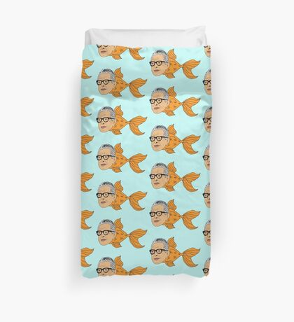 Jeff Goldfish Duvet Cover