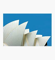 The Sails - Sydney Opera House, NSW Australia Photographic Print