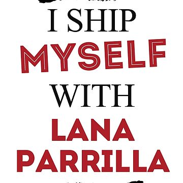 I ship myself with Lana Parrilla by AllieConfyArt