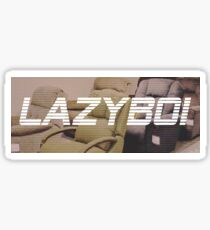 LAZYBOI Sticker