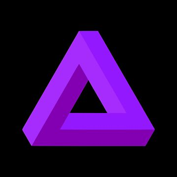 Impossible Triangle (Purple) by realmatdesign