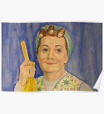 Hilda Ogden - Coronation Street Poster