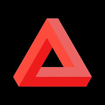 Impossible Triangle (Red) by realmatdesign