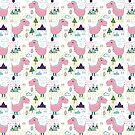Cool T-rex Fun party pink #homedecor by susycosta