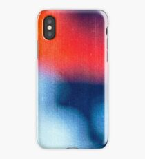 BLUR / burning ice iPhone Case