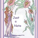 Just a Flowery Note by redqueenself
