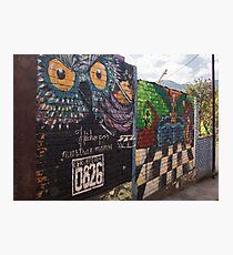 Street Art In Valle De Angeles - 1 © Photographic Print