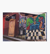 Street Art In Valle De Angeles - 2 © Photographic Print