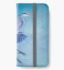 Misty Blue iPhone Wallet/Case/Skin
